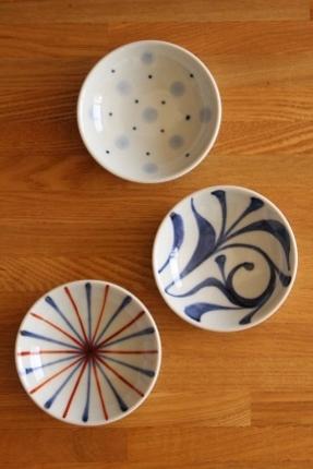 砥部焼・梅山窯:三寸小皿