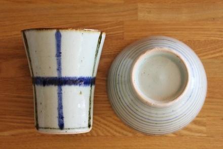 砥部焼・中田窯:フリーカップ/くらわんか茶碗