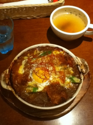 カレーランチ(スープ&ドリンク) 1,000円
