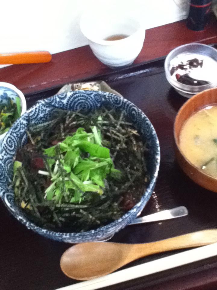 鮪アボガド丼 800円