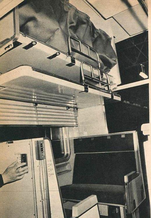 寝台車の写真