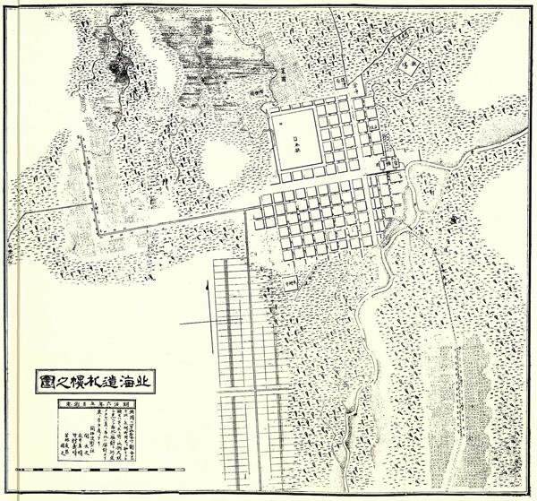 明治6年市街圖