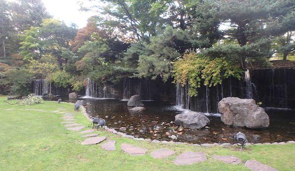パークホテル庭園