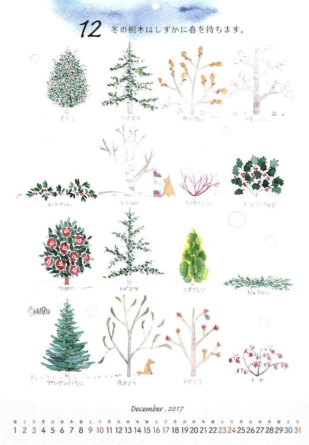 花カレンダー