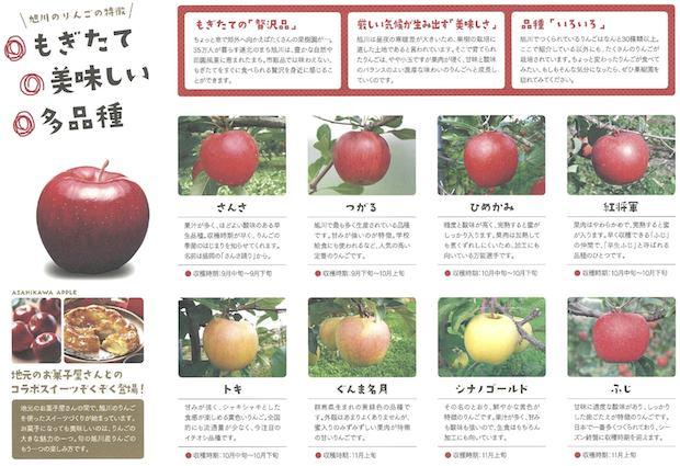 旭川のリンゴ2