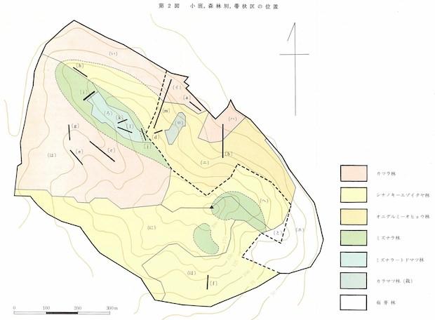 植生区分図
