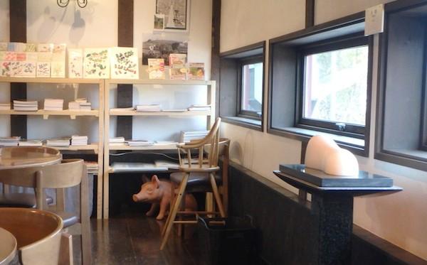 納屋カフェ