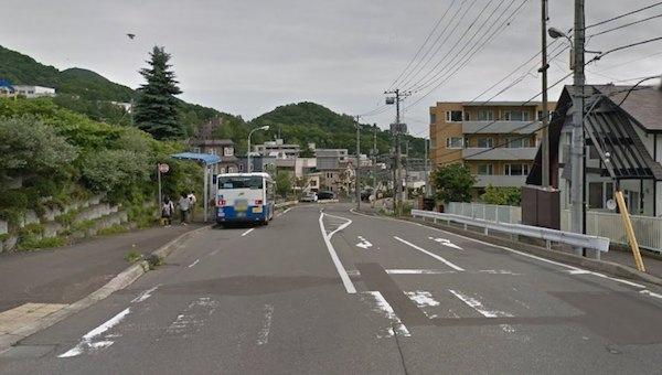 バス通り1