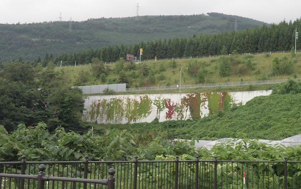 町からの景観