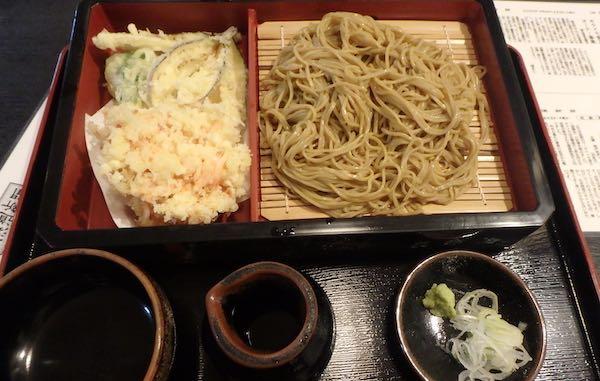 桜海老蕎麦