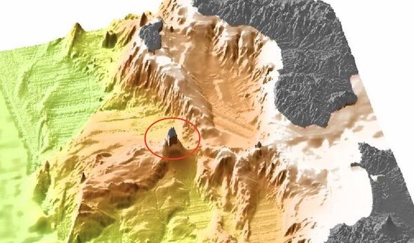 海底地形図