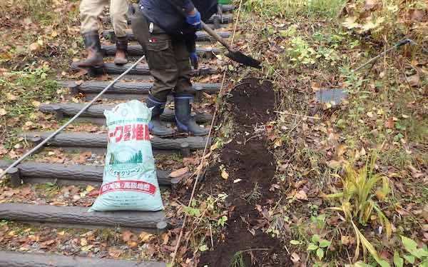 堆肥マルチ