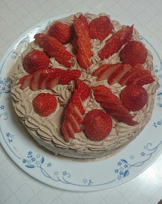 ケーキ 完成
