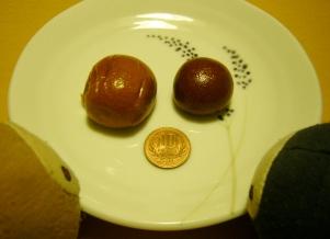10円まんじゅう食べ比べ