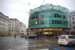 RENNWEG駅近くの交差点