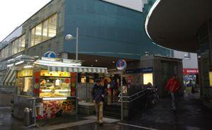 RENNWEG駅入り口
