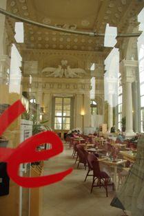 グロリエッテのカフェ