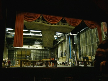 オペラ座舞台裏