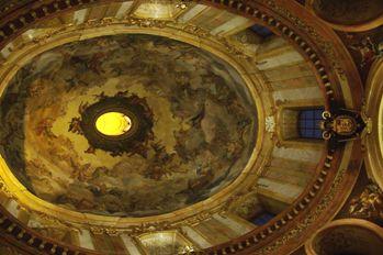 ペーター教会 天井