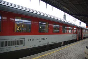 プラハへの列車