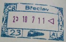 チェコ列車で入国