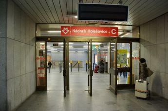 ホレショヴィツェ地下鉄駅入り口