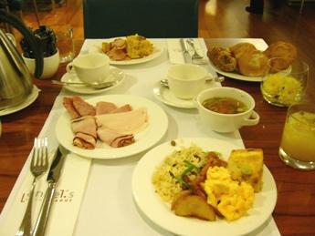 andel's Hotel 26日朝食