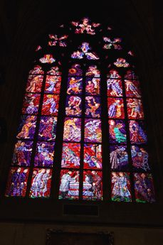 聖ヴィート大聖堂 ステンドグラス2