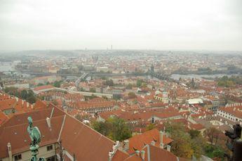 聖ヴィート大聖堂の塔の上から
