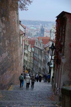 プラハ城 新登城道
