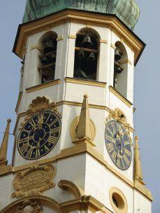 ロレッタ教会 11時の鐘