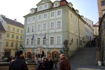 「プラハの恋人」ロケ地の階段
