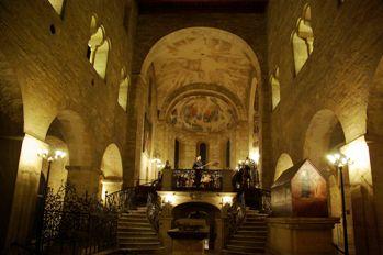 聖イジー教会コンサート風景