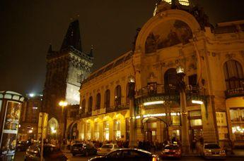 市民会館 夜景