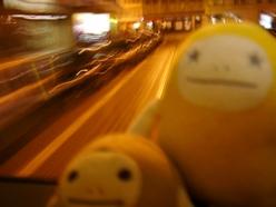 トラム移動中