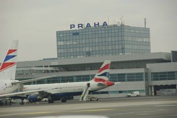 プラハ空港外観