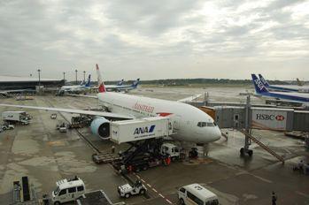 成田に到着