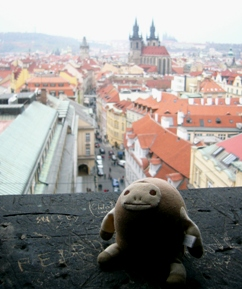 思い出のプラハ 新婚旅行