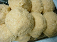 味噌作り2009年2月 みそ玉