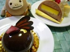 シュークリー ケーキ3種