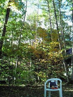 2009年10月 山の家の朝