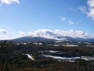 浅間山 2009年11月初冠雪