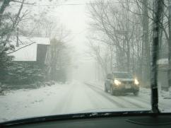 雪降る年末