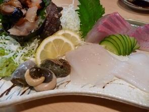 長崎 海鮮台所さかなや 刺身盛り合わせ