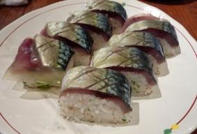 本町漁港 鯖棒寿司