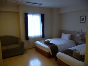 大阪アリエッタホテル デラックスツイン室内