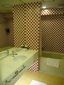 大阪アリエッタホテル バスルーム