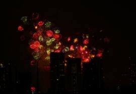 2010年8月 東京湾花火1