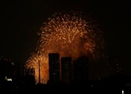 2010年8月 東京湾花火2