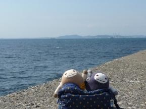 海にきた〜
